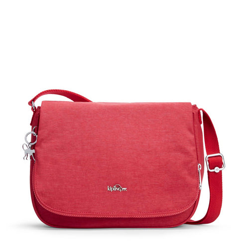 Kipling Earthbeat M Shoulder Bag - Spark Red - 14302-30C