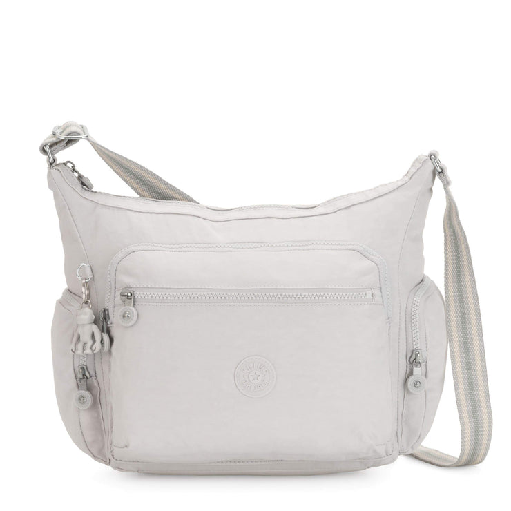 Kipling-Gabbie-Medium Shoulder - Crossbody bag-Curiosity Grey-15255-19O