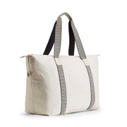 Kipling Art M Travel Tote - Canvas White - 16997-16H