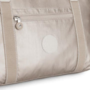 Kipling-Art-Handbag with Detachable Straps-Metallic Glow-21091-48I