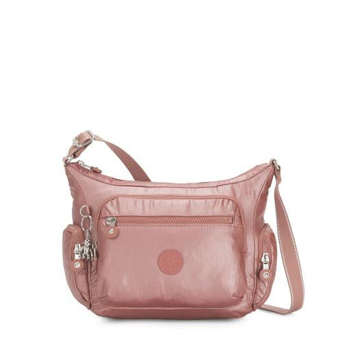 Kipling-Gabbie S-Small Crossbody Bag with Phone Compartment-Metallic Rust-I2532-48P
