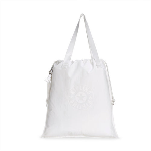 Kipling New Hiphurray Tote - Lively White - I2634-50Z