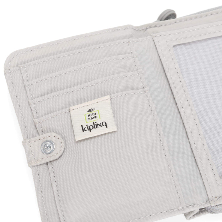 Kipling-Money Love-Medium wallet-Curiosity Grey-I3738-19O