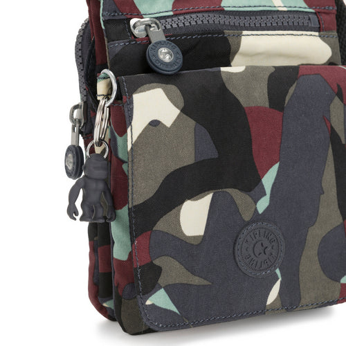Kipling New Eldorado Crossbody Bag - Camo L - I3865-P35