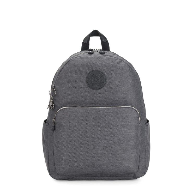 Kipling-Citrine-Large backpack (with laptop protection)-Charcoal-I5051-29V