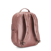 Kipling-Seoul Xl-Extra Large backpack (with laptop protection)-Metallic Rust-I5323-48P