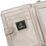 Kipling-Money Love-Medium wallet-Metallic Glow-I7276-48I
