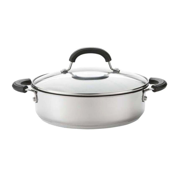 Circulon Total Stainless Steel Casserole - 24 cm - 76604 - Jashanmal Home