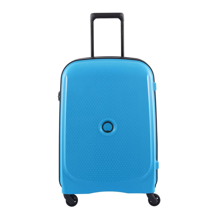 Delsey Belmont 4 Wheel Trolley Case - Metallic Blue - 00384080522 METALLIC BLUE - Jashanmal Home