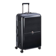 Delsey Turenne 4 Double Wheel Cabin Trolley Case - Black - 00162182000 BLACK - Jashanmal Home