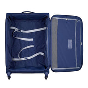 Delsey Brochant Trolley Bag - Blue - 00225582102 BLU - Jashanmal Home