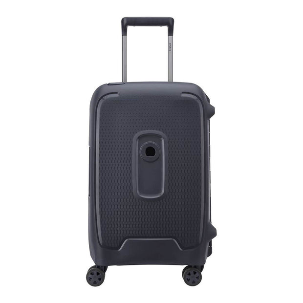 Delsey Moncey 4 Double Wheel Cabin Trolley Case - Anthracite - 00384480101 ANT - Jashanmal Home