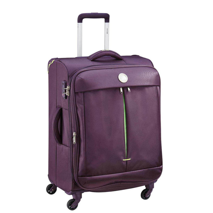 Delsey Flight Lite 4 Wheel ZST Trolley Bag - Purple, 71 cm - 00023382008G9 PURPLE - Jashanmal Home