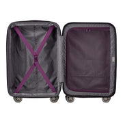 Delsey Comete 2.0 Cabin Luggage Trolley Bag - Purple, 68 cm - 00386582008 PLUM - Jashanmal Home