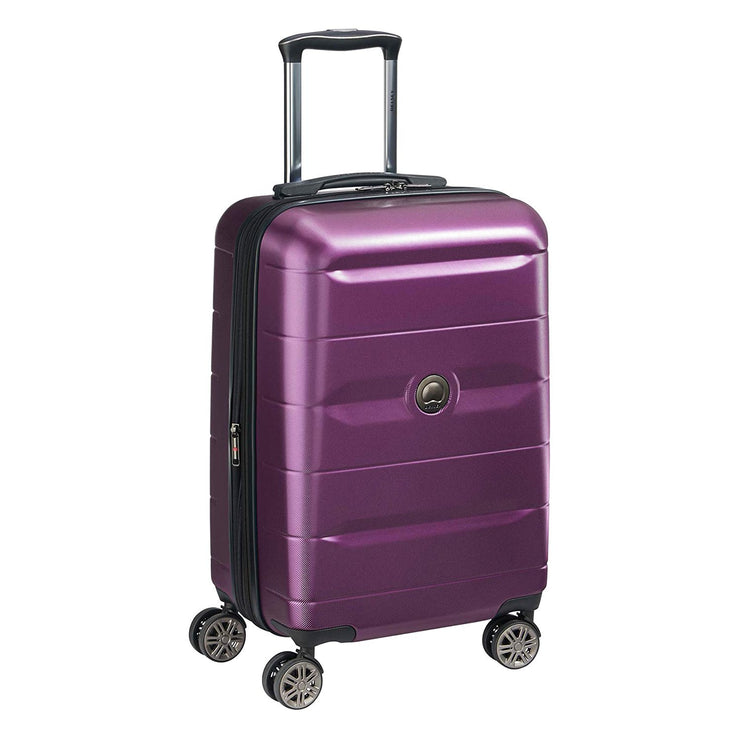 Delsey Comete 2.0 Cabin Luggage Trolley Bag - Purple, 78 cm - 00386583008 PLUM - Jashanmal Home