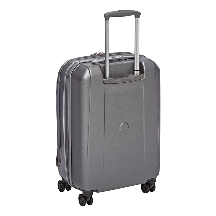 Delsey Helium Shadow 3.0 Cabin Trolley Bag - Silver - 00203680011 PLATINUM - Jashanmal Home