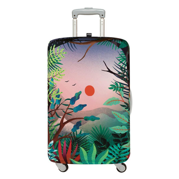 Loqi Artist Hvass and Hannibal Arbaro Luggage Cover - Multicolour, Small - LS.HH.AR - Jashanmal Home