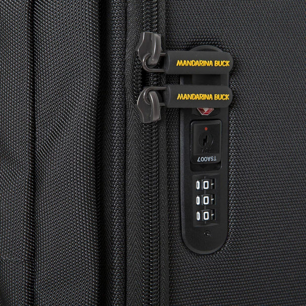 Mandarina Duck Work Now Cabin Trolley Bag - Black - P10SKV01651 - Jashanmal Home