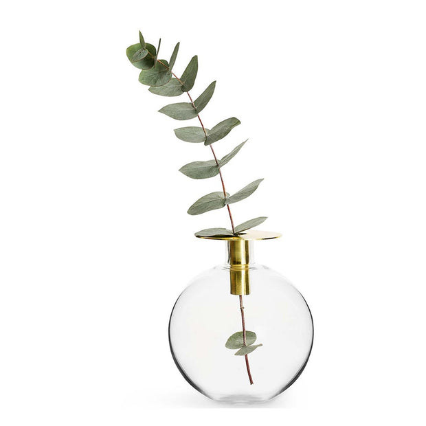 Sagaform Top Vase Holder - Clear and Gold - SA5017905 - Jashanmal Home