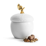 Sagaform Acorn Bowl with Lid - White - SA5017721 - Jashanmal Home