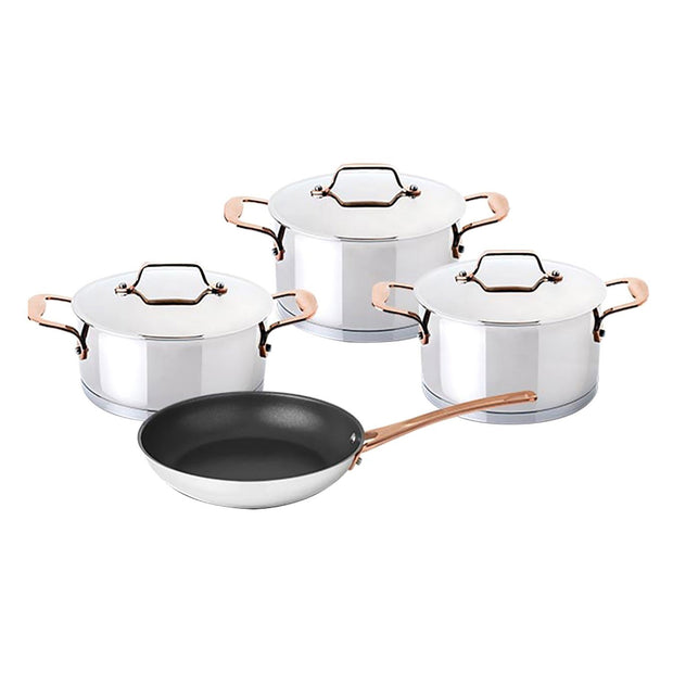 Silampos Alma SS 7 Piece Cookware Set - Silver - 63D122FR0027 - Jashanmal Home
