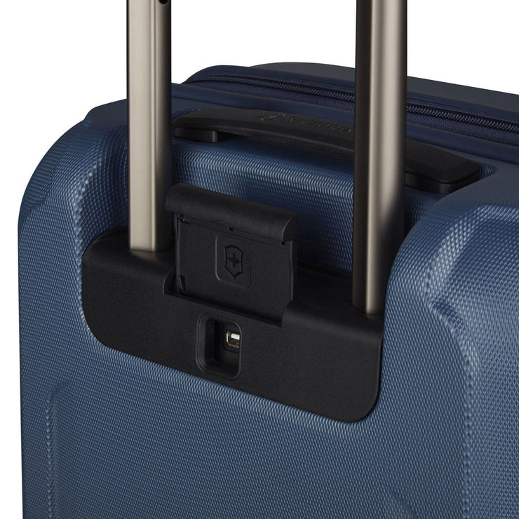 Victorinox Werks Traveler 6.0  Global Hardside Carry-On Trolley Bag - Blue - 609969 - Jashanmal Home