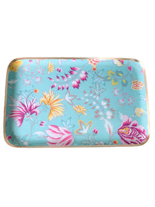 TIFFANY FLORAL TRAY