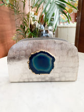 Load image into Gallery viewer, THEA AGATE NAPKIN HOLDER