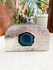 THEA AGATE NAPKIN HOLDER