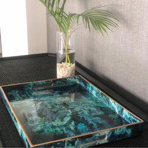 SEA GREEN TRAY