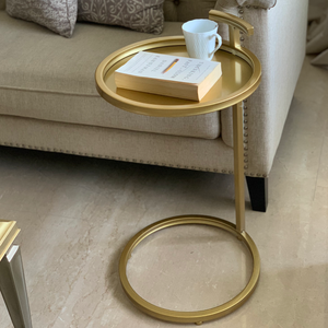 ROYAL GOLD SIDE TABLE