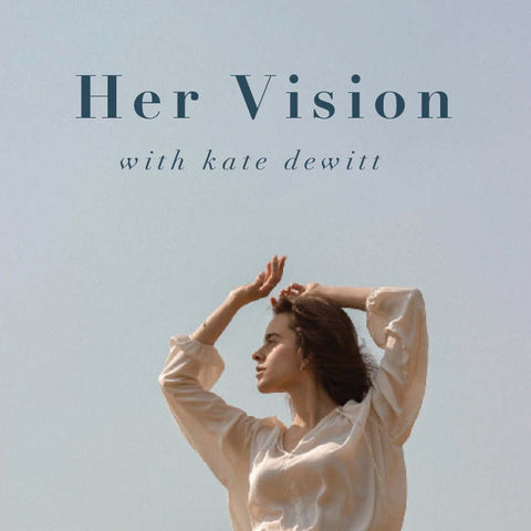 Her Vision Podcast Album Cover About the Founder