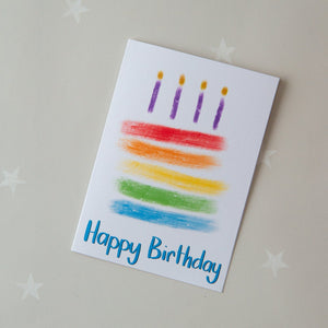 KIDS CARD - birthday cake