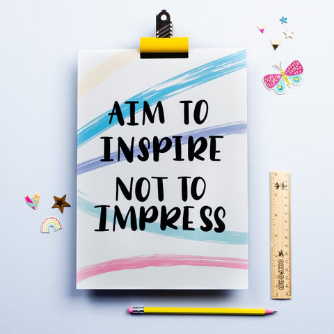 Aim to inspire