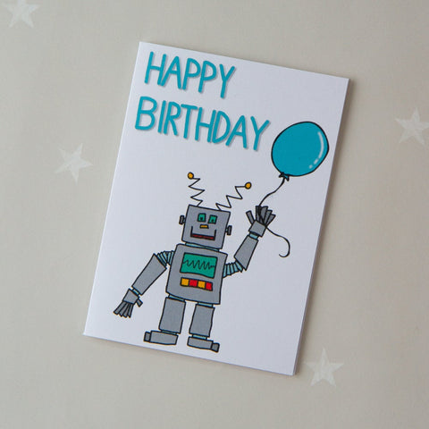KIDS CARD - robot