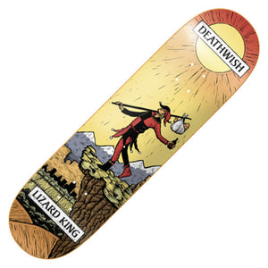 "Deathwish Lizard King Tarot Card deck (8.0"")"