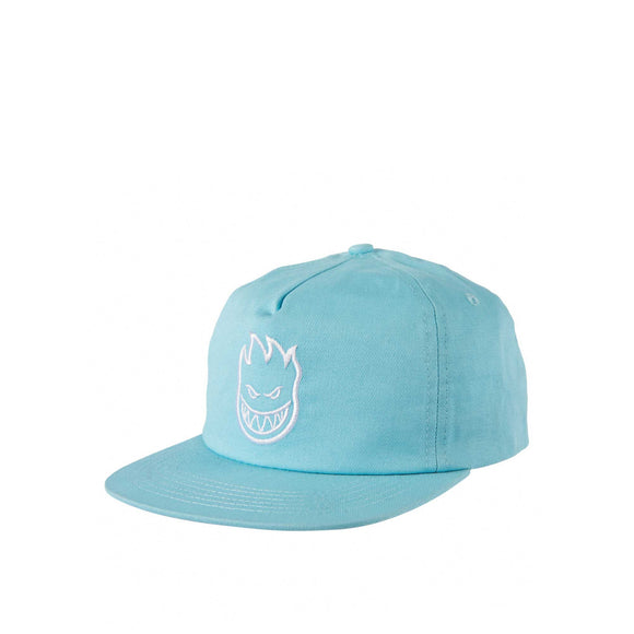 Spitfire Bighead Snapback, light blue/white