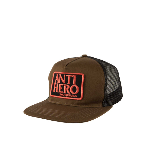 Anti Hero Reverse Patch Snapback, olive/black