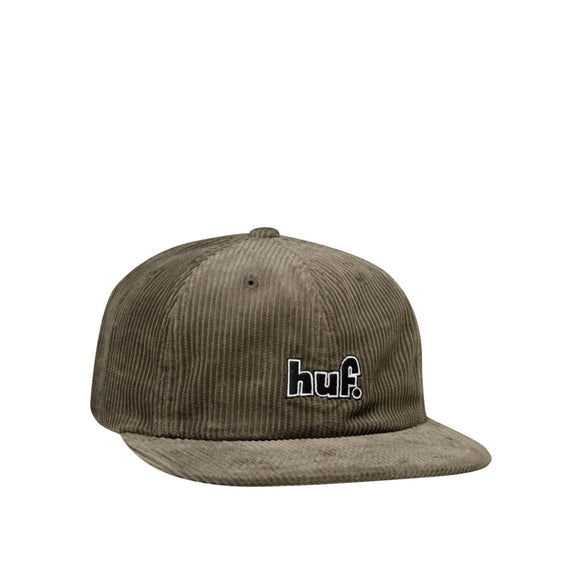 HUF 1993 Logo 6 panel hat, olive