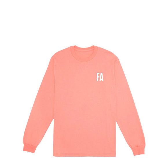 Fucking Awesome Fear L/S tee coral slik canada
