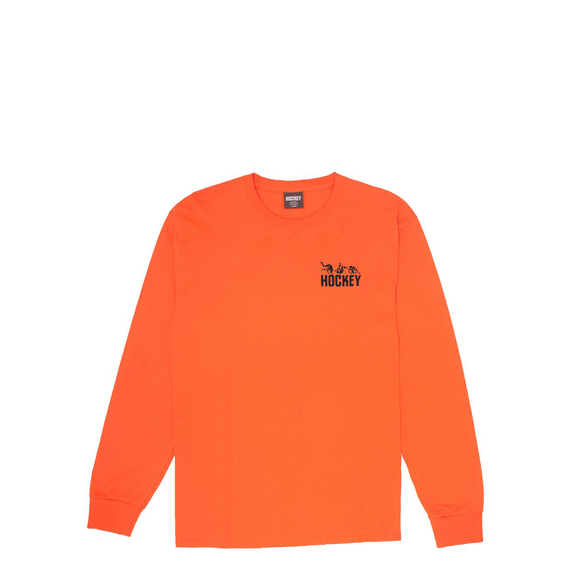 Hockey Fall Guy L/S tee orange Canada