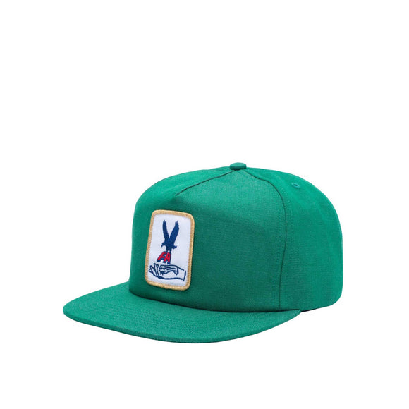 Fucking Awesome Hawk Snapback, green