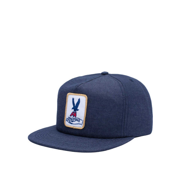 Fucking Awesome Hawk Snapback, navy