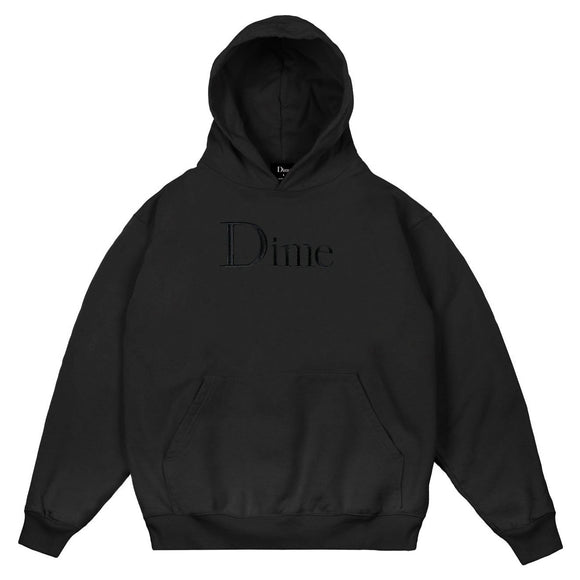 Dime Classic Logo Embroidered hoodie