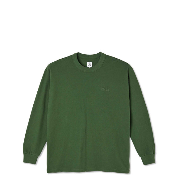 Polar Shin L/S Tee, hunter green