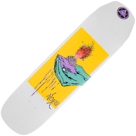 """Welcome Skateboard Deck Peregrine on Wicked Princess Coral 8.125/"""" x 31.6/"""""""