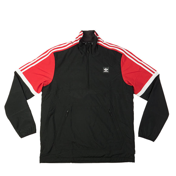 Adidas Neck Jacket BR4038 black scarlet red canada