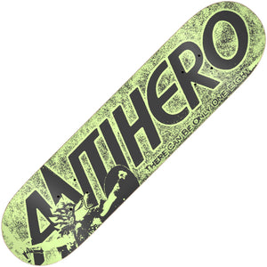 "Antihero Highlander Hero deck (8.06""), Green Canada"