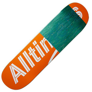 "Alltimers Trace Logo deck (8.1""), Orange Canada"