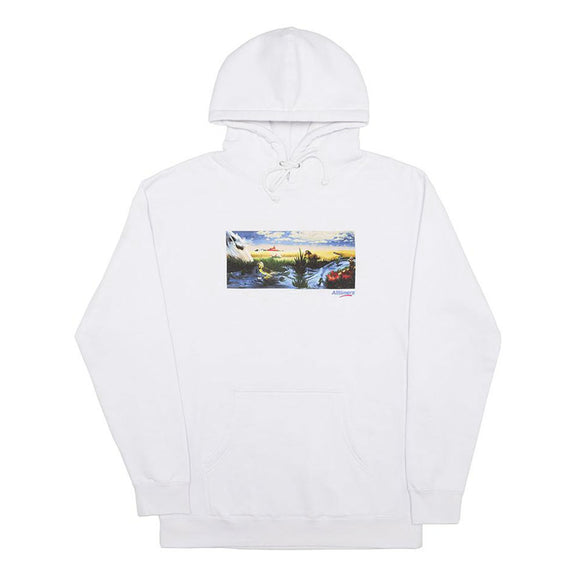 Alltimers Mirage Oasis hoody white Canada